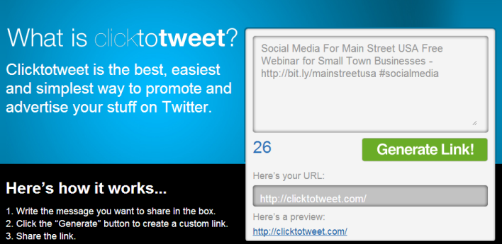 Click to Tweet makes it simple to Promote or Share a Quote