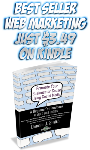 Promote Your Business or Cause Using Social Media - A Beginner's Handbook [Kindle Edition]
