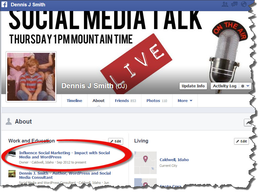 New Facebook Personal Timeline
