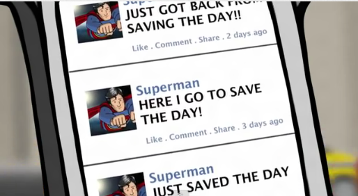 Superman Saves Social Media - Video