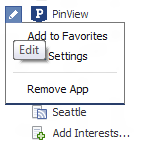 Add to Facebook Favorites