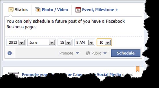 FBPostSchedule