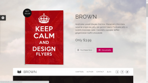 Brown - WordPress Theme