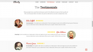 Testimonials  - Websites For Self-Published Authors