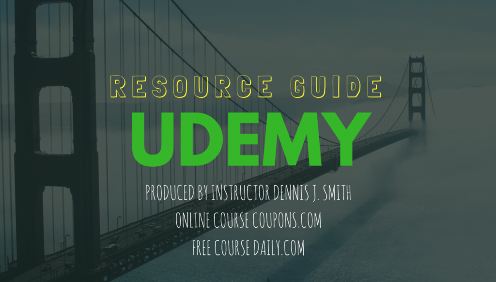 Udemy Instructor Resource Guide