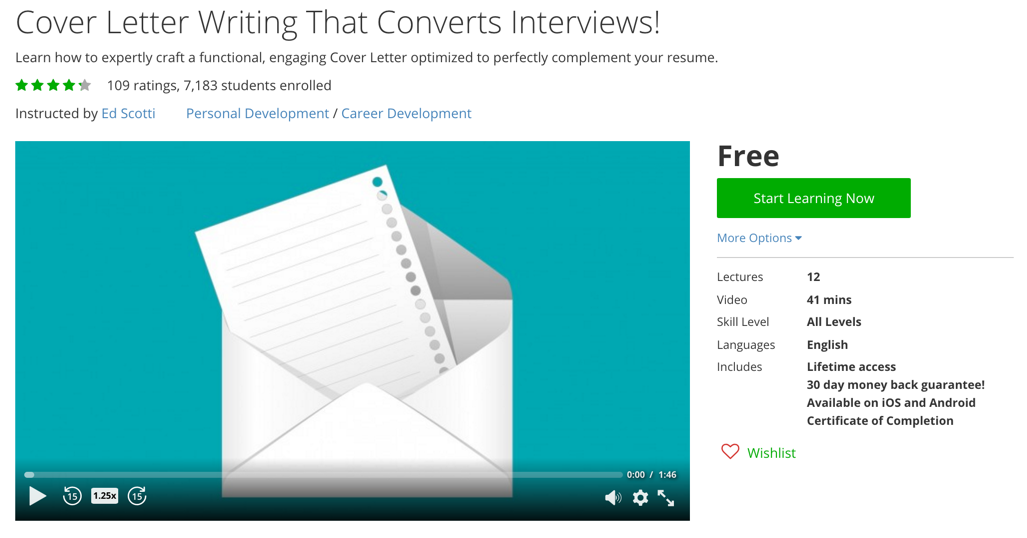 Cover Letter Writing That Converts Interviews!