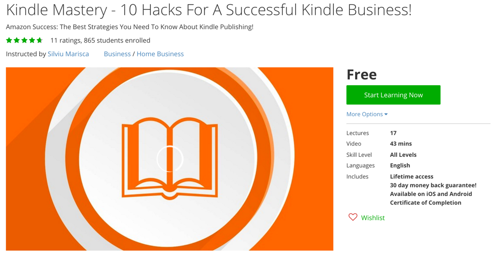 Kindle Mastery - 10 Hacks For A Successful Kindle Business!