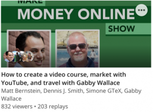 How to create a video course, market with YouTube, and travel with Gabby Wallace