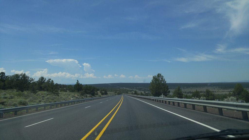 Traveling Just Outside Bend Oregon