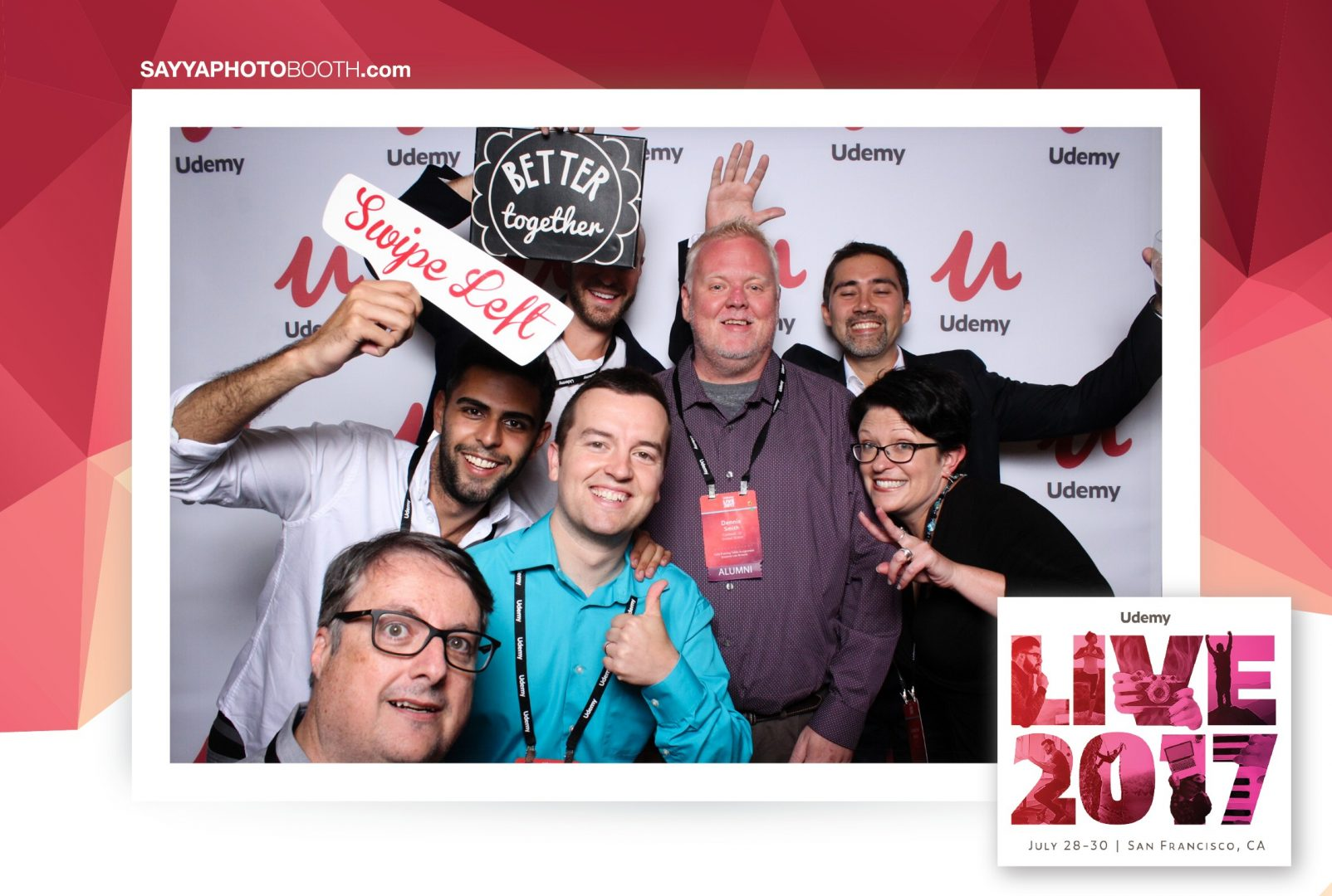 Udemy Live Photo Booth