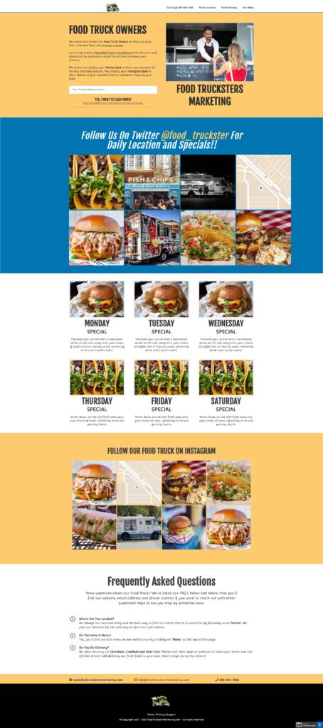Food Truck Funnel